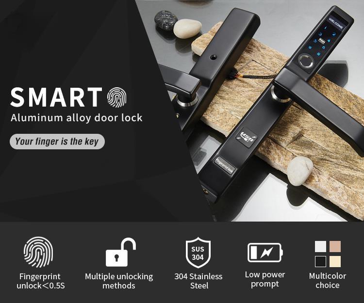 Những loại khóa vân tay dành cho cửa nhôm xingfa giá tốt nhất chất lượng bền nhất tại việt nam