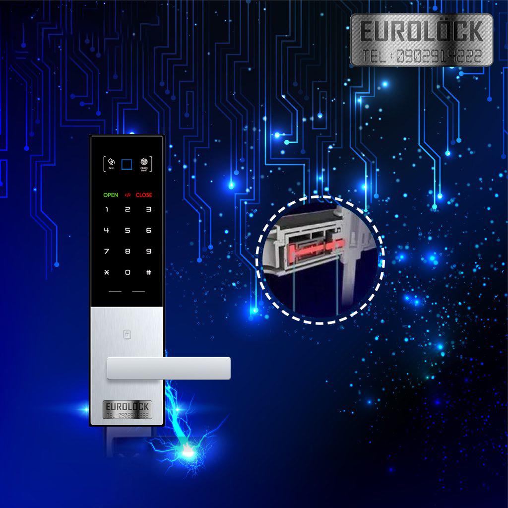 Khóa cửa điện tử Eurolock S100T - 6tr5 nên mua hay không