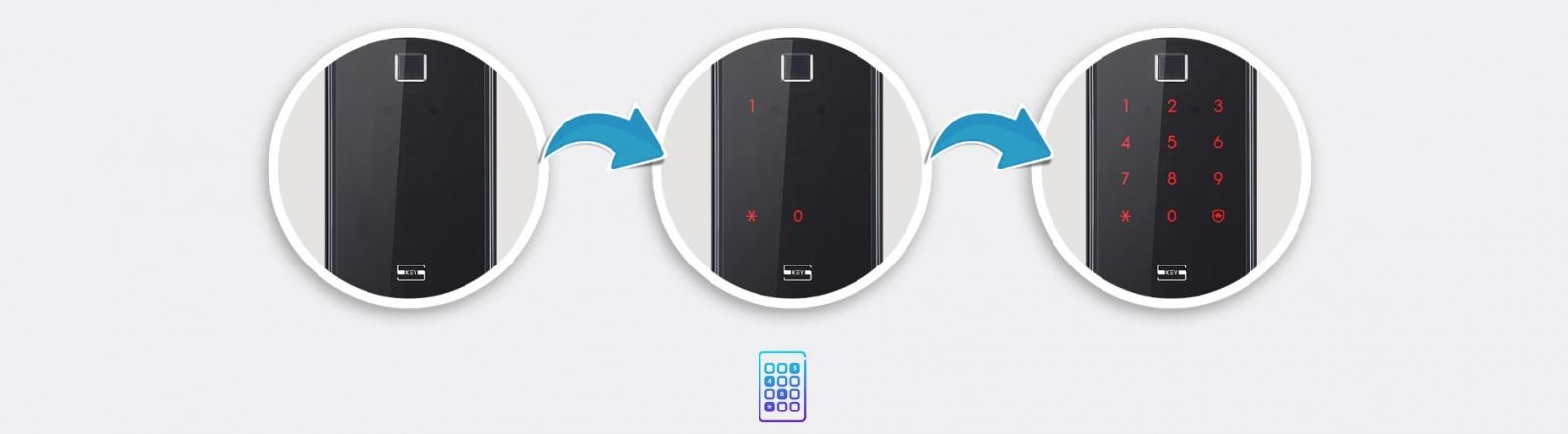 Khóa vân tay Samsung SHP-DR708