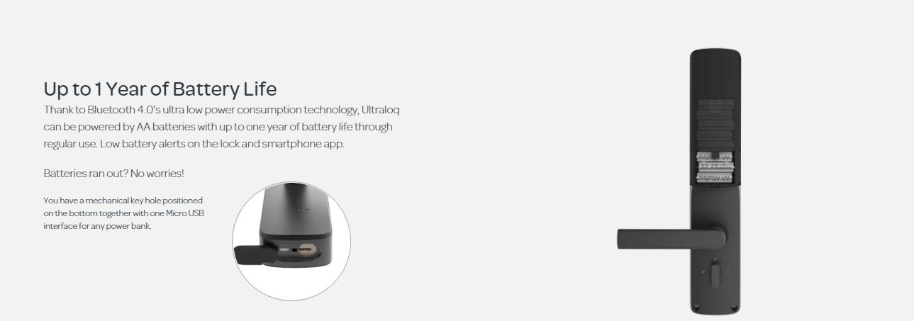 Khóa điện tử thông minh ULTRALOQ UL300