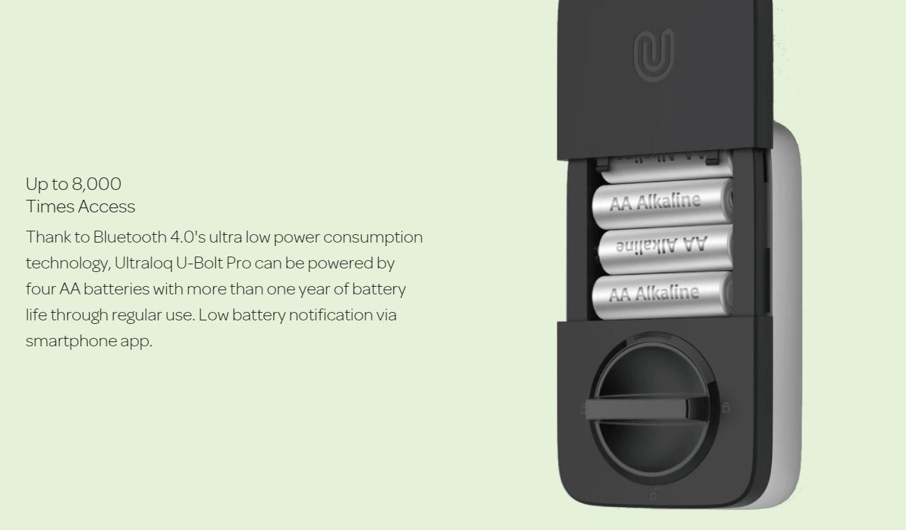 Khóa điện tử thông minh Ultraloq U-Bolt Pro