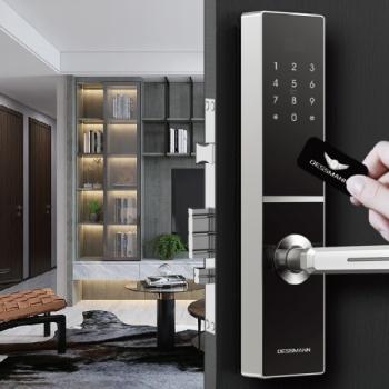 Khóa châu âu hướng dẫn khách hàng tự lắp đặt khóa điện tử vân tay đơn giản và hiệu quả an toàn nhất
