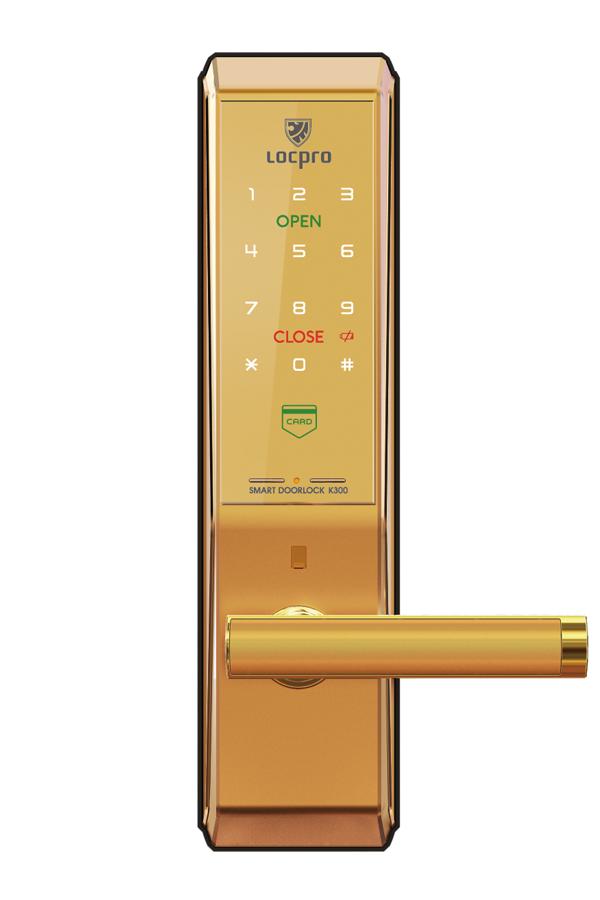 Khóa cửa thẻ từ Locpro K300