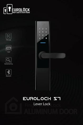 Khóa thẻ từ cửa gỗ EUROLOCK S7
