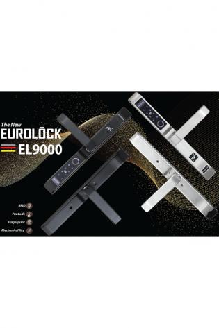 Khóa vân tay cửa nhôm EUROLOCK EL9000-AL