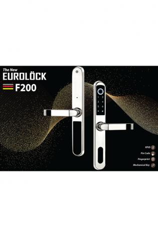 Khóa vân tay cửa nhôm EUROLOCK F200