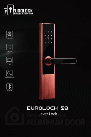 Khóa vân tay EUROLOCK S8 COPPER