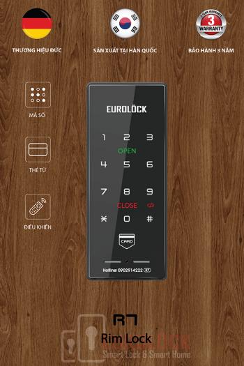Lắp đặt khóa điện tử EUROLOCK R7 tại Nguyễn khoái, Quận 4